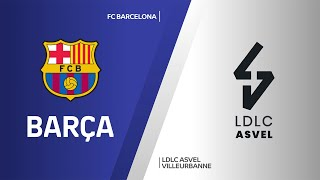 FC Barcelona - LDLC ASVEL Villeurbanne Highlights | Turkish Airlines EuroLeague, RS Round 26