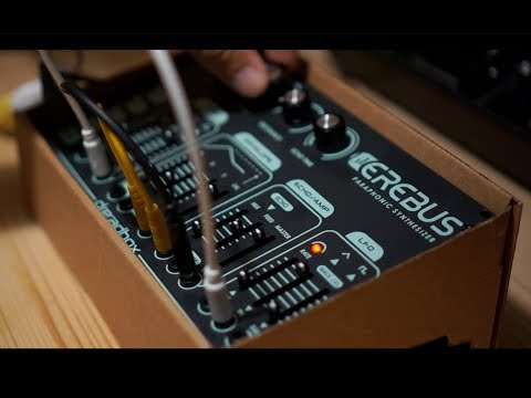 lil Erebus - 10 Patches for the new Dreadbox synth (Riamiwo StudioVlog 91)