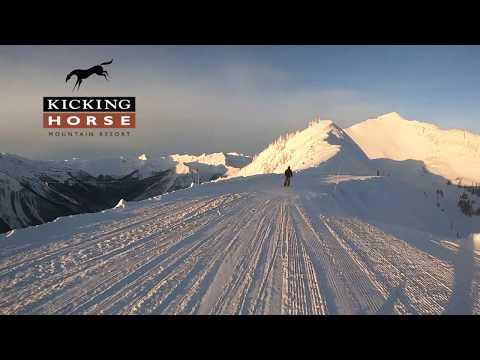 Kicking Horse Mountain January 2019