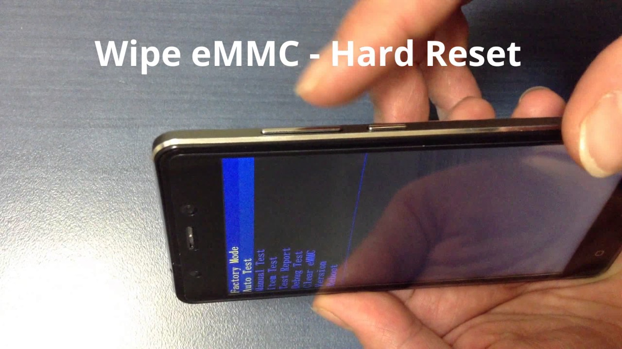 BLACKVIEW A8 clear eMMC - Hard reset and enable USB Debugging