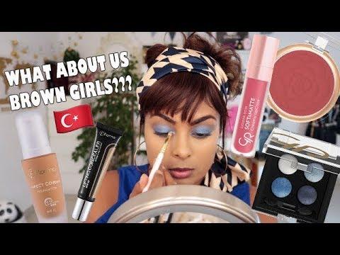 INDIAN GIRL TRIES TURKISH MAKEUP
