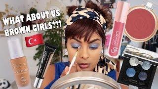 Trying Turkish Makeup + Flormar & Golden Rose Full Face Review