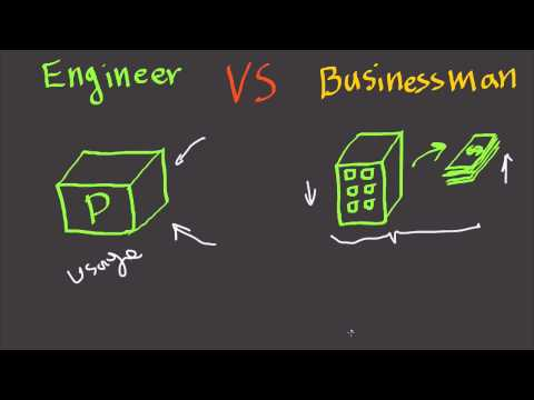 Engineer Vs Businessman - Fast Business Skills