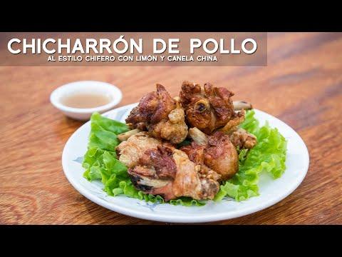 COMO PREPARAR CHICHARRON DE POLLO CHIFERO CON CANELA CHINA Y LIMÓN   ACOMER.PE   COCINA CHIFA