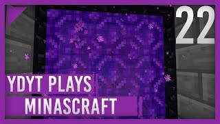 MinasCraft - 022 - BUNKER ENTRANCE - Minecraft 1.13 Survival Single Player