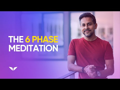 6 Phase Guided Meditation with Binaural Beats | Vishen Lakhiani