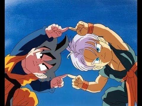 Trunks & Goten se fusionan audio latino (Gotenks) HD