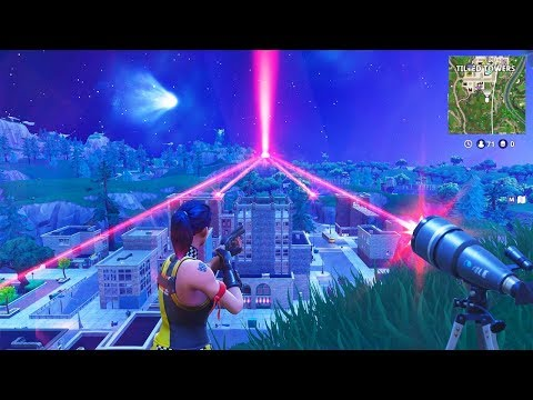 THE TELESCOPE BEACONS TURNED ON..? (ʘ_ʘ) (Fortnite Funny Fails and WTF Moments) #5