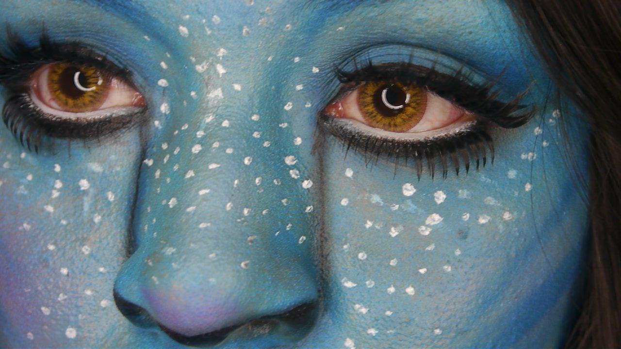 Tutorial De Maquillaje Disfraz Avatar JuanCarlos960 YouTube