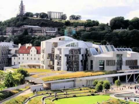 Scottish Parliament Inside and Out
