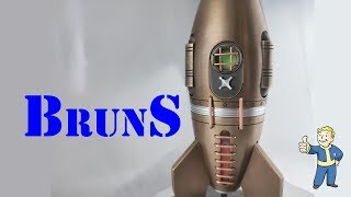 My hardest project: Fallout Big Bronze 'Red Rocket' 2