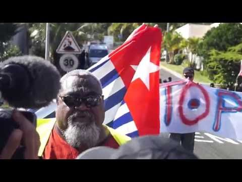 Mobilisasion Kanaky for West Papua 20 06 2015