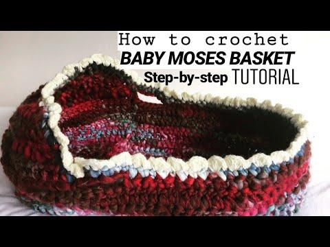 Baby Moses Basket Tutorial