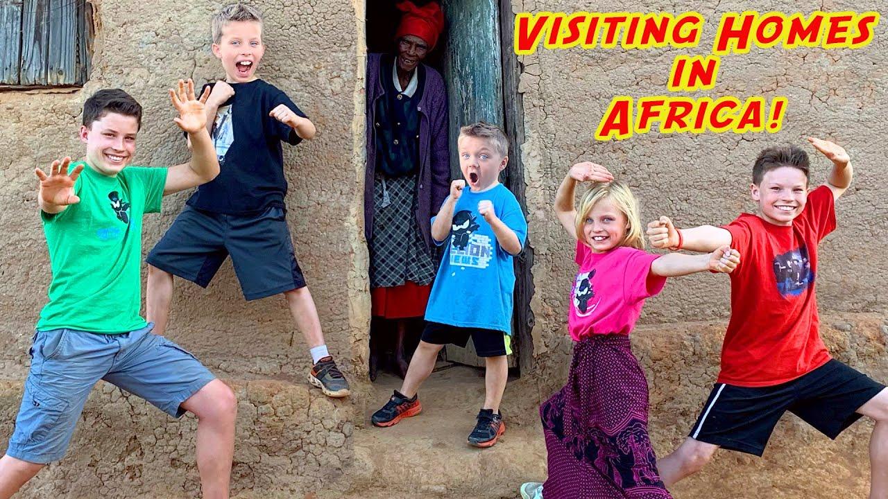 Download The Ninja kidz visit homes in Africa!!
