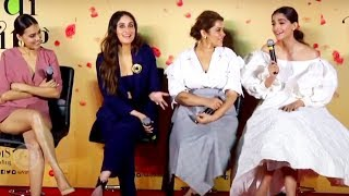 Kareena, Sonam, Swara Reaction On Casting Couch In Bollywood | Veerey Di Wedding Trailer Launch