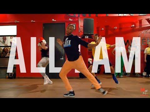 "Trevor Jackson   ""All I Am""   Choreography By Karon Lynn"