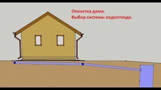 видео Поверхностный водоотвод