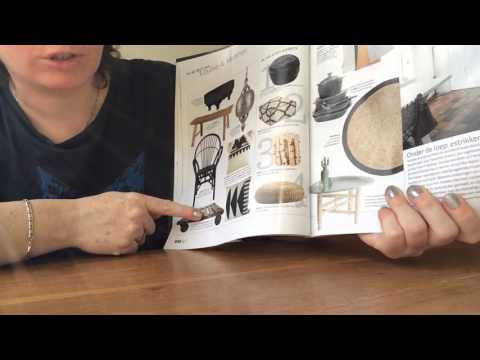 ASMR page turning magazine and whispering in Dutch