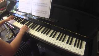 Barbed Wire Blues by Christopher Norton RIAM piano grade 6 2015-2018