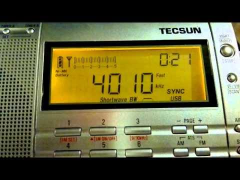Kyrgyz Radio 1 (Bishkek, Kyrgyzstan) - Low audio - 4010 kHz