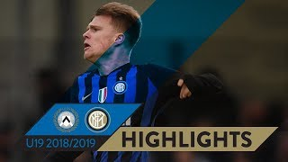 UDINESE 0-2 INTER | PRIMAVERA HIGHLIGHTS | Our fifth consecutive win!