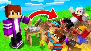 ВСЕ СЕРИИ ЛУЧШИЕ ТРОЛЛИНГИ ДРУЗЕЙ ПИКСЕЛЯ В МАЙНКРАФТ 100 троллинг ловушка Minecraft