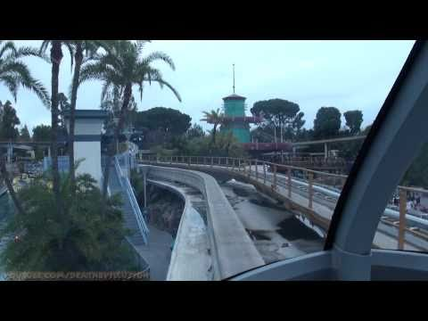 Monorail On-ride Drivers View (Complete HD Experience) Disneyland California