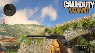 NEW LEVEL CAP, WEAPONS, & MORE! CALL OF DUTY WW2 MULTIPLAYER BETA GAMEPLAY! (COD WW2)