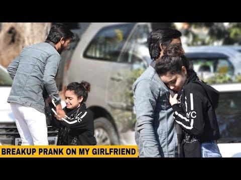 Breakup Prank On My Girlfriend    Prank Gone Emotional    TTP