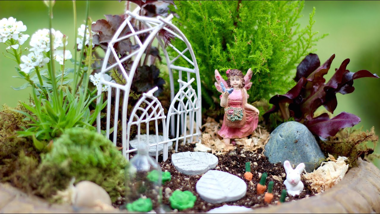 Fairy Garden Inspiration   YouTube