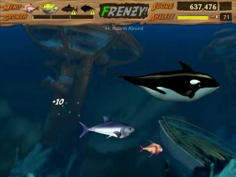 Let's Play Feeding Frenzy 2 - 13 - Levels 43-44 (No Commentary)