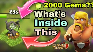 What's Inside Clash of clans Halloween Obstacle   Coc Halloween Obstacle   Lets remove it   Coc  