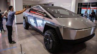 Провал продаж Tesla Cybertruck 2021/ Илон МаскTesla Cybertruck 2021