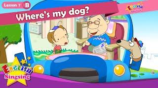 Lektion 7_(B)Wo ist mein Hund? - In Unter - Cartoon-Geschichte - Englisch-Bildung - für Kinder