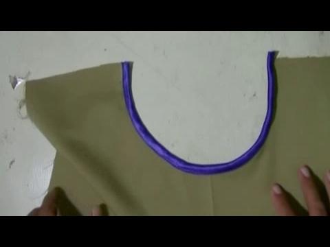 cara membuat dan menjahit bisban dari kain