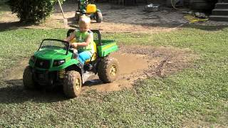 Jaxson Brinkley- Kickin up mud kid