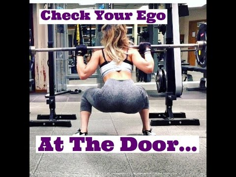 Wish to Get Ripped Look At Your Ego in the Door