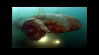 A história por trás deste carro encontrado no fundo de um lago é totalmente fascinante