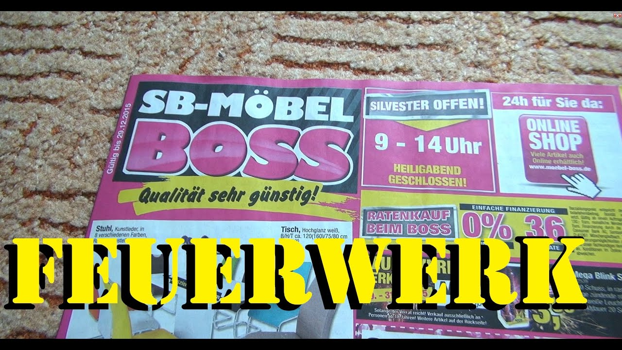 sb m bel boss feuerwerk angebot 2015 highspeed im review youtube. Black Bedroom Furniture Sets. Home Design Ideas
