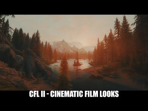 Skyrim SE Mods: CFL II - Cinematic Film Looks for SSE