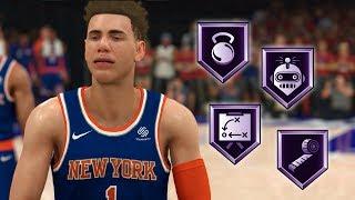 NBA 2K20 LaMelo Ball My Career Ep. 12 - MAJOR Badge Upgrades to HOF!