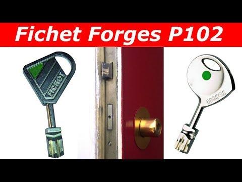 Tutoriel Changer De Serrure Fichet Forges Pas Cher  Cylindre Fichet