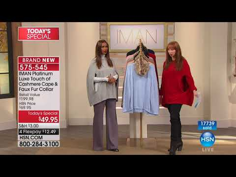 HSN | IMAN Platinum Collection 10.28.2017 - 04 PM