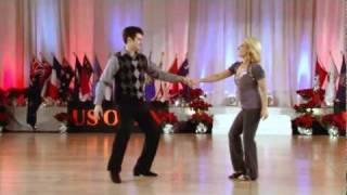 Ben Morris & Sarah Vann Drake - Improv West Coast Swing, US Open 2010
