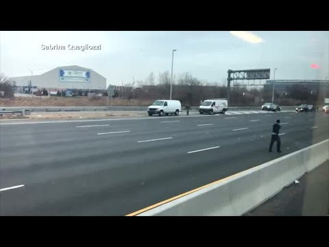 Mike Dellinger - A Brinks Truck Spills Cash All Over the Highway & People Go Wild!