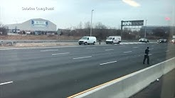 People Grab Money Off New Jersey Highway After Armored Car Spilled Cash
