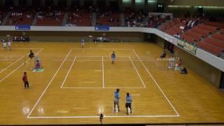 2017年 アゼリアカップ 男子準々決勝 第2対戦 松江工業 対 羽黒