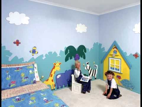 Wall Murals For Kids | Kid'S Room Murals Ideas - Youtube