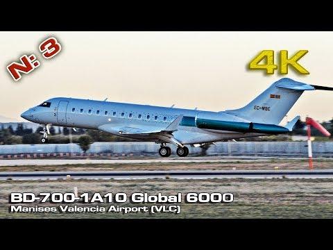 Private Bombardier BD-700 -A10 Global 6000 [4K] (EC MSC)