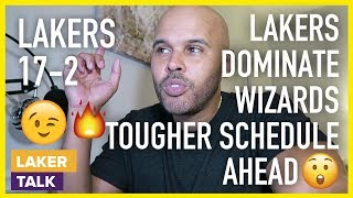 Lakers Destroy the Wizards, but Tougher Schedule Coming Up in December!